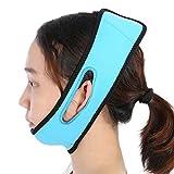 Correa adelgazante facial, cinturón de elevación facial V-Line Chin Cheek Lift Up Band Máscara adelgazante facial Masaje de silicona Vendaje delgado para mujeres Hombres Cara redonda