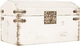 Adumly Elegant Shabby Chic Antique White Wedding Card Gift Box Vintage Wishing Well