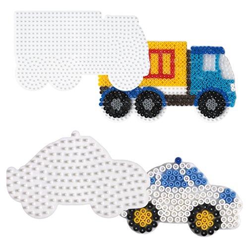 Midi Stiftplatten-Set Fahrzeuge für Jungen