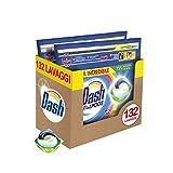 Dash All in 1 Pods Detersivo Lavatrice in Capsule Salva Colore, Maxi Formato 2 x 66, 132 L...