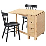 ZigZag Trading Ltd IKEA NORDEN/NORRARYD - Mesa 2 sillas abedul/negro