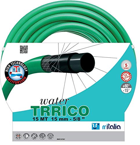 RR Italie Water trrico Tuyau d'arrosage, Vert
