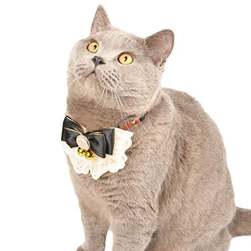Grafts - Collar de gatito, diseño de gato y gatito, 2 unidades