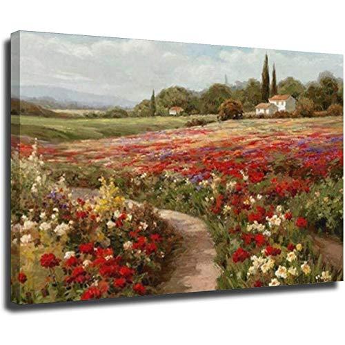 Claude Monet Poplars Felder Landschaft Wandbild Ölgemälde auf Leinwand Poster Drucke Wandbild für Wohnzimmer Cuadros Unframe Stil 1 40 x 60 cm