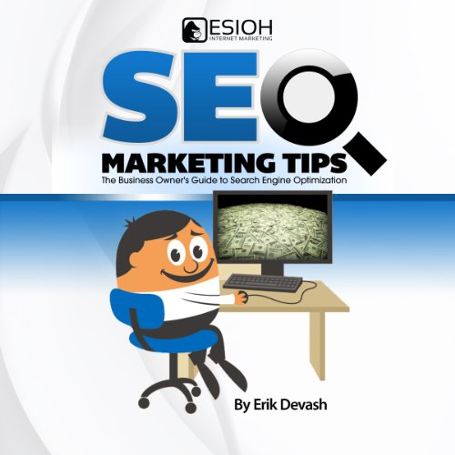 SEO Marketing Tips audiobook cover art