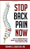 Stop Back Pain Now: How to understand and Safely and effectively treat your lower back pain.