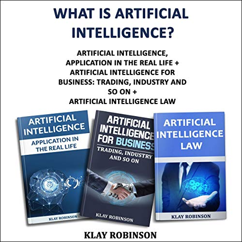 『What Is Artificial Intelligence? Three Books in One』のカバーアート