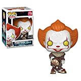 Pop. Vinyl: Movies: It: Chapter 2 - Pennywise W/ Beaver Hat W/ Chase (Styles May Vary)