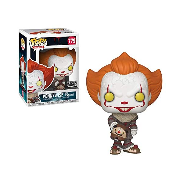 Pop. Vinyl: Movies: It: Chapter 2 - Pennywise W/ Beaver Hat W/ Chase (Styles May Vary) 1