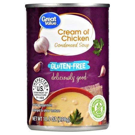 Gluten Free Cream of Chicken Condensed Soup, 10.5 oz, Pack of 2