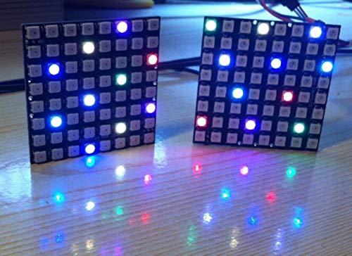 Miwaimao For Arduino WS2812B WS2812 8 * 8 64-Bit Full Color 5050 RGB LED Lamp Panel Light For Arduino