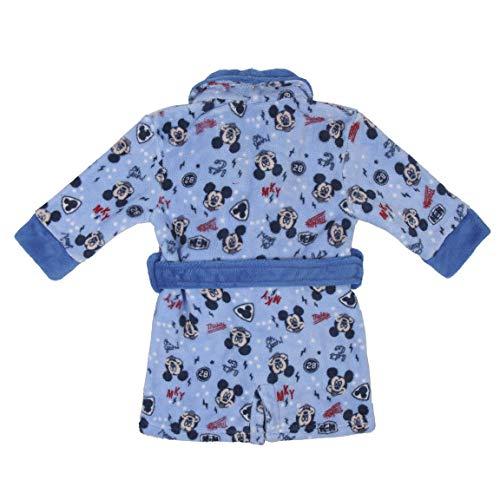 CERDÁ LIFE'S LITTLE MOMENTS Batitas de Bebé Niño Mickey-Licencia Oficial Disney, Azul, 24M para Bebés