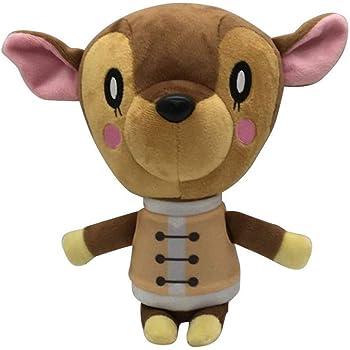 Amazon Com Sanei Animal Crossing New Leaf Doll Fauna 7 Plush Toys Games