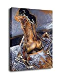Abstract Nude Art Oil Painting Print On Canvas Modern Wall Art Decorative Obsex For Her (8x12inch)