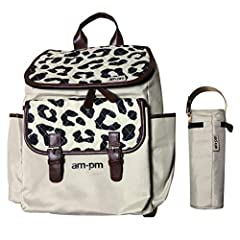 WANT STYLE & PRACTICALITY? Look no further! Packed with style and functionality, the stunning Leopard Print Premium Diaper Bag is a fresh new design from Christina Milian and forms part of her 'AM:PM' range at Your Babiie. Combining the fashion and f...