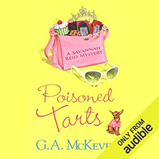 Poisoned Tarts audiobook cover art