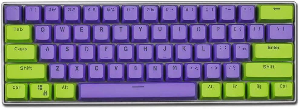 Keycaps, 61 PBT Keycaps Backlight Bicolor Teclado Mecánico ...