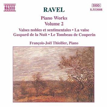 RAVEL: Piano Works, Vol.  2