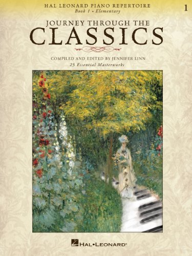 Journey Through the Classics: Book 1 Elementary: Hal Leonard Piano Repertoire (English Edition)