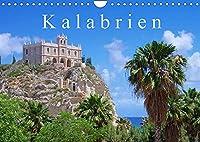 Kalabrien (Wandkalender 2022 DIN A4 quer): 12 Bilder der Stiefelspitze Italiens begleiten Sie mit diesem Kalender durch das Jahr. Alte Staedte wie Stilo und Tropea wechseln sich mit schoenen Landschaften und Kuesten ab. (Monatskalender, 14 Seiten )