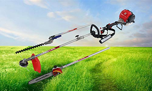 Best Prices! Real 31CC 3 in 1 Multi Functional Trimming Tool, Brush Cutter, Pole Chain Saw,Gas Hedge...
