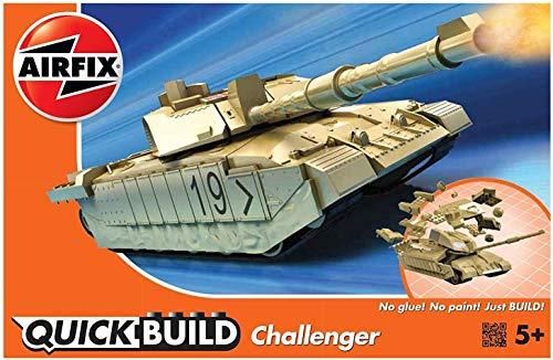 Price comparison product image Airfix Quickbuild Challenger Tank Plastic Model Kit