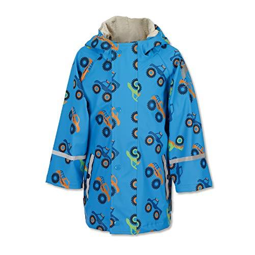 Sterntaler Jungen Regenjacke, Ungefüttert, Alter: 3-4 Jahre, Größe: 104, Azurblau