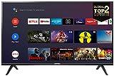 Smart TV, Android TV: Risoluzione HDR, Assistente Google integrato, Dolby Audio per suoni chiari e dinamici. Colore: Nero, 32 Pollici (Classe energetica A+)