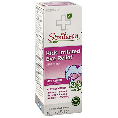 Similasan Kids Irritated Eye Relief Drops, 0.33 Ounce