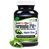 120 Capsules - All Natural Muscle Relax Formula PM Plus - Over 1,150 mg Strong - Nighttime Relaxer - Maximum Strength Natural Relaxant