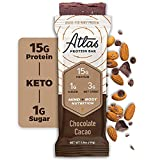 Chocolate Cravings Keto Protein Bar Bundle for Intermittent Fasting, Snack, or Meal Replacement