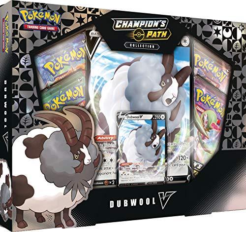 Pokémon POK80773 Pokemon TCG: Champion's Path Collection Dubwool V Box, Mehrfarbig