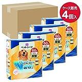 【ケース販売】ペットシーツ 厚型 ワイド 60枚×4個 ワイド 60枚×4個