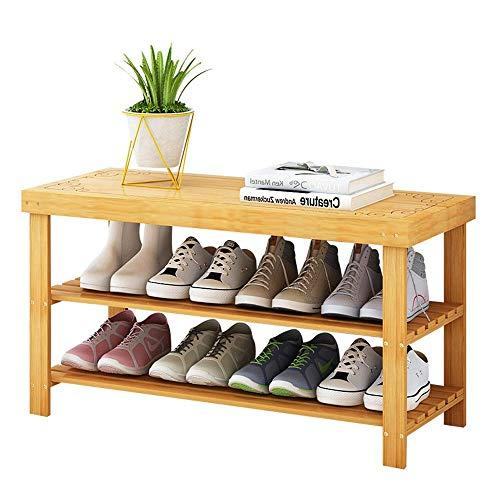 Zapateros Banco de zapatos simple y económico Gabinete de zapatos-Dormitorio en el hogar Espacio de ahorro multifuncional Tamaño del zapatero: 90 * 28 * 45cm Organizador de almacenamiento de so