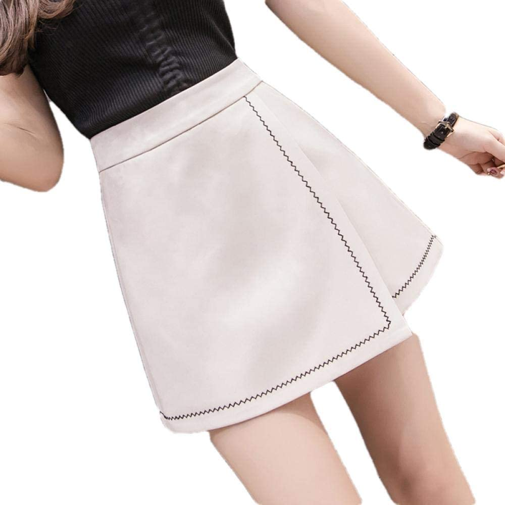 Short In stock Skirt Set Chic latest Embroidery Waist High Shorts Skirts Womens