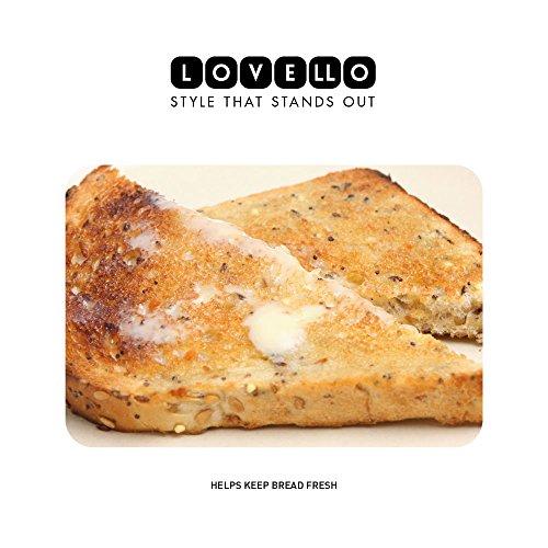 KitchenCraft Lovello Textured Bread Bin - Midnight Navy