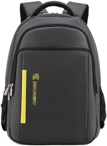 FERZA Home 15.6 Pouce Sac à Dos Ordinateur portable étanche Polyester étudiant Grande Capacité Sac Unisexe Affaires Packet Voyage Packet Voyage Sac d'alpinisme (Couleur    4)