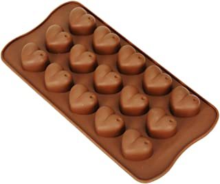 Clazkit - YH-039 Silicone Heart SChocolate Mould