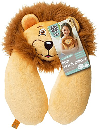 Design Go Lion Neck Pillow, Brown