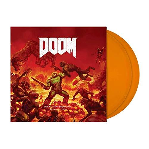 Doom (Original Game Soundtrack) - Exclusive Limited Edition Orange Colored 2x Vinyl LP (Only 500 Copies Pressed Worldwide)