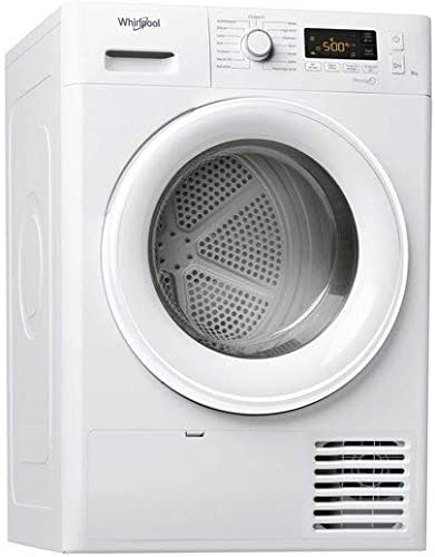 Sèche linge Condensation Whirlpool FTCM118XB1FR - Condensation - Chargement Frontal - Départ différé - Indicateur tem...