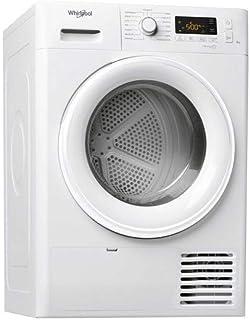 Sèche linge Condensation Whirlpool FTCM118XB1FR - Condensation - Chargement Frontal - Départ différé - Indicateur temps re...