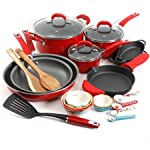 Vintage-Speckle-24-Piece-Mothers-Day-Cookware-Combo-Set