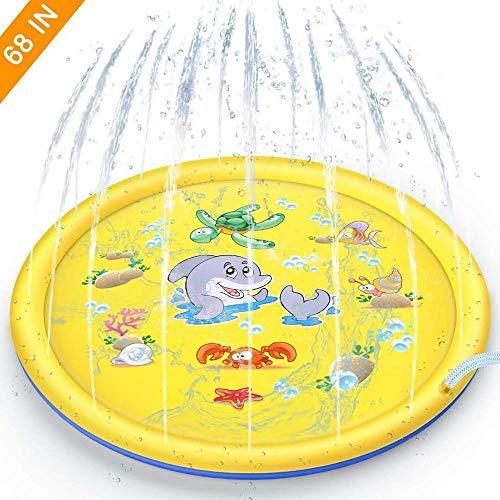 170cmcojín inflable del aerosol de agua salpicaduras de agua alrededor de una piscina infantil aerosol de juegos de agua de la yarda diversión al aire libre de los niñosdel PVCpiscina170cmA