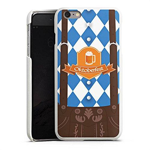 DeinDesign Apple iPhone 6s Plus Lederhülle Leder Case Leder Handyhülle Oktoberfest Lederhose Bier