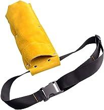 ULTECHNOVO Lasstaafzak, lasstaafhouder, elektrodenopslagbuis, lasstaafzak, moeilijk ontvlambare elektrodenzak (geel)