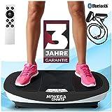 Miweba Sports Fitness Vibrationsplatte MV200 – 3 Vibrationsmodi – Horizontal – Vertikal – Oszillierend – 400 Watt (Schwarz)