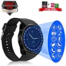 Kindak Smartwatch, Impermeable Reloj Inteligente Redondo con ...
