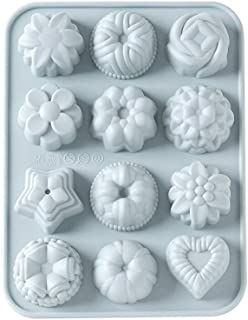Home DIY,Silicone Animal Flower Cake Cookie Chocolate Mould Lollipop Mold Baking Tray