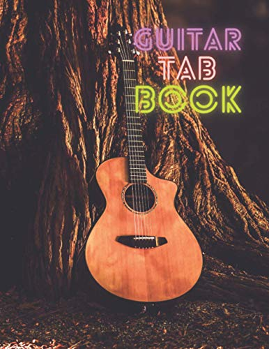 Guitar Tab Book: Smart Songwriting Journal, Large 8-1/2x11 inches, Blank Tablature Writing Paper with Chord Diagrams, Music Composition Diary, ... c/w Sketchbook, Graph Paper, Ruled Notebook